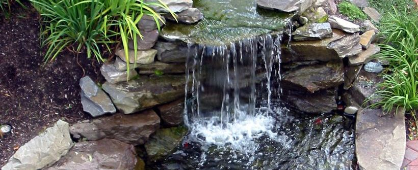 Waterfall For Your Home Garden