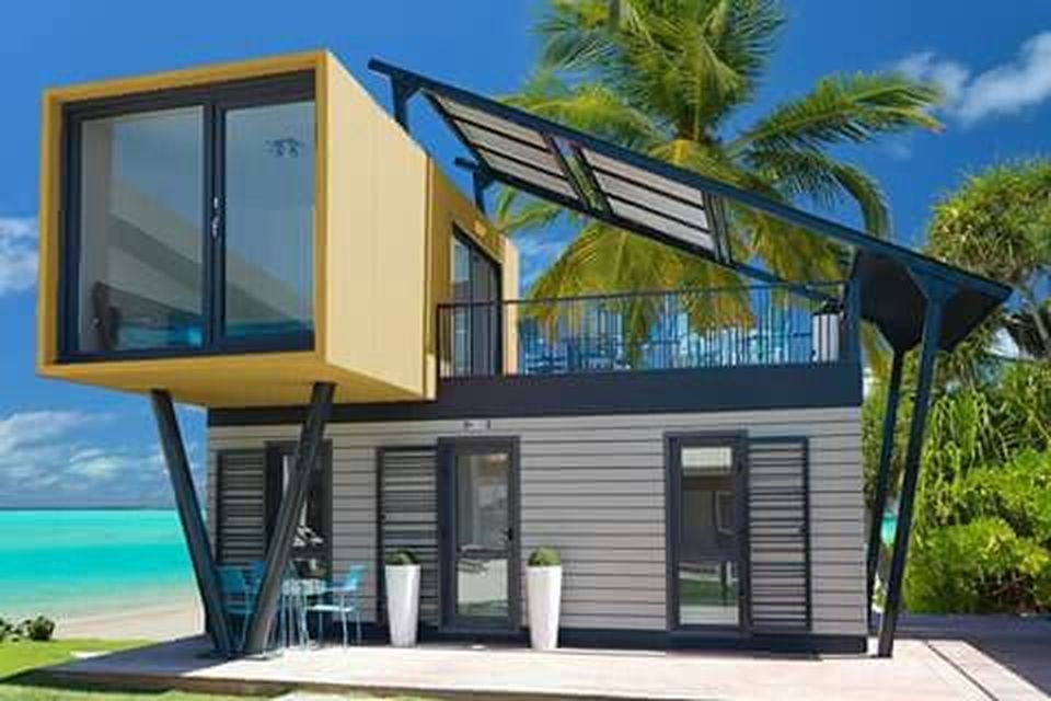 Best shipping container house design ideas 52 - Rockindeco