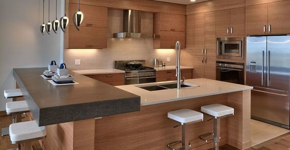 Modern And Contemporary Kitchen Cabinets Design Rockindeco