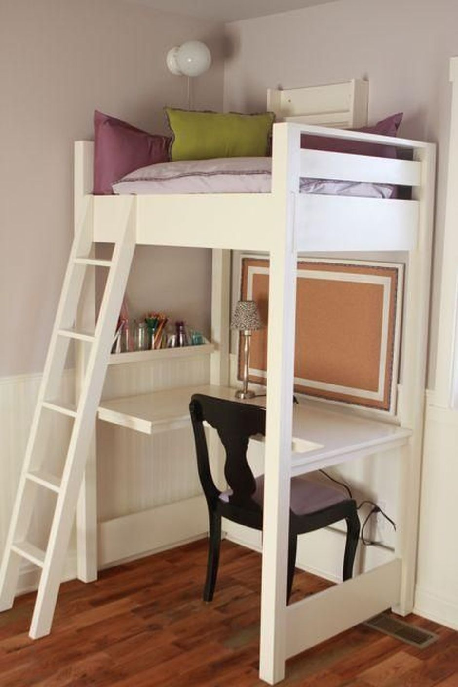 Cool Loft Bed Design Ideas For Small Room 23 Rockindeco