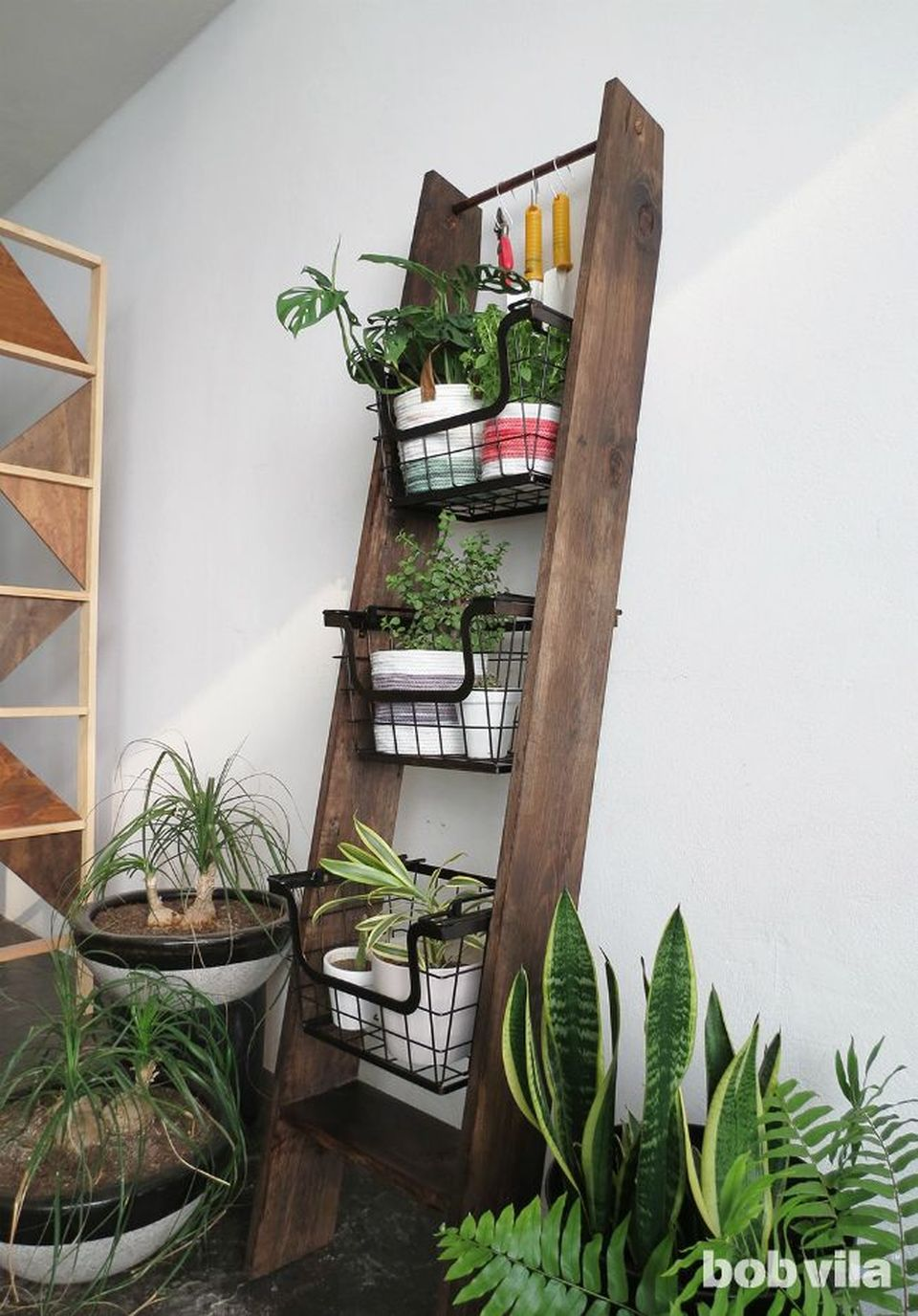 Cool Plant Stand Design Ideas for Indoor Houseplant 14 ... on Plant Stand Ideas  id=16082