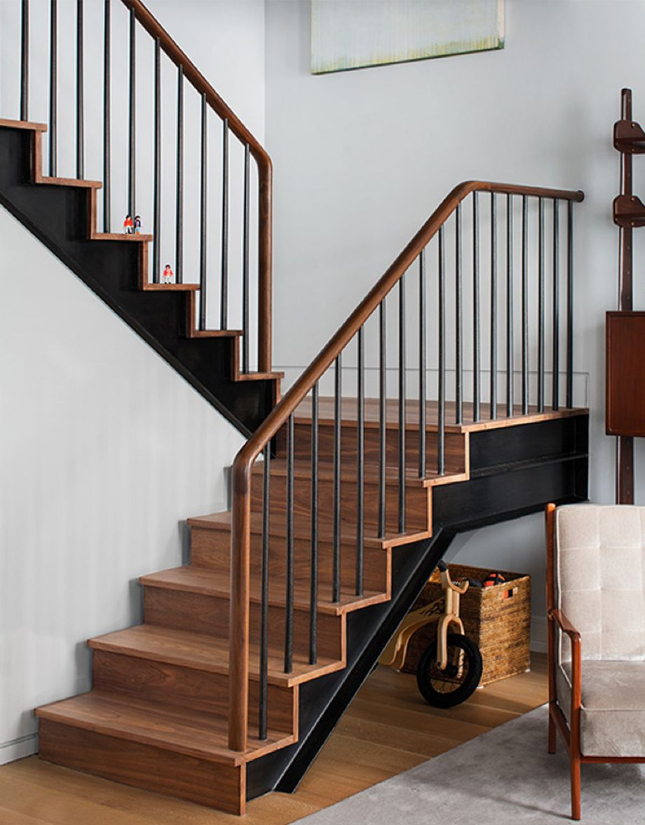 40 Awesome Modern Stairs Railing Design 13 - Rockindeco