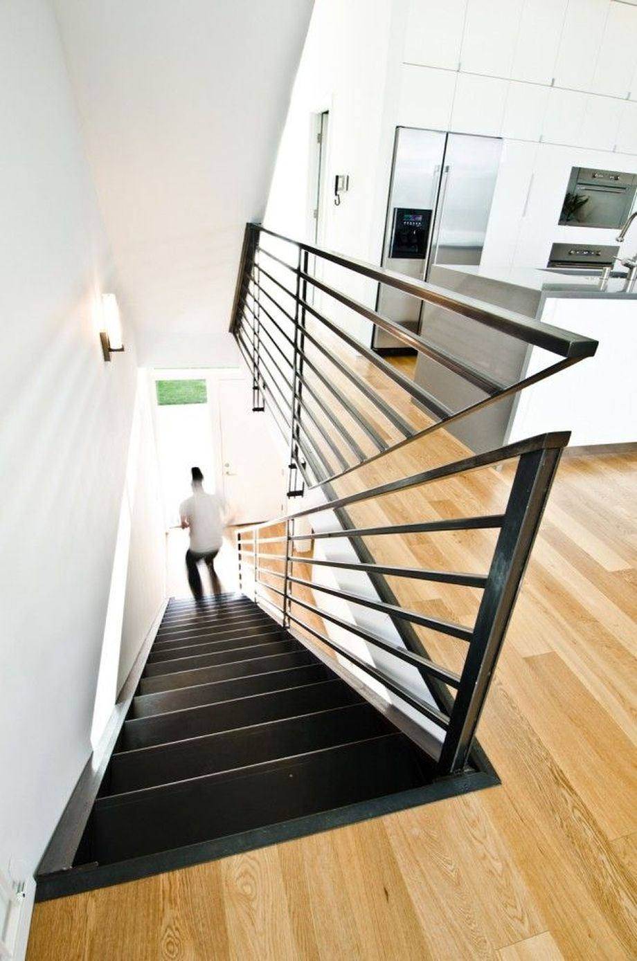 40 Awesome Modern Stairs Railing Design 2 - Rockindeco