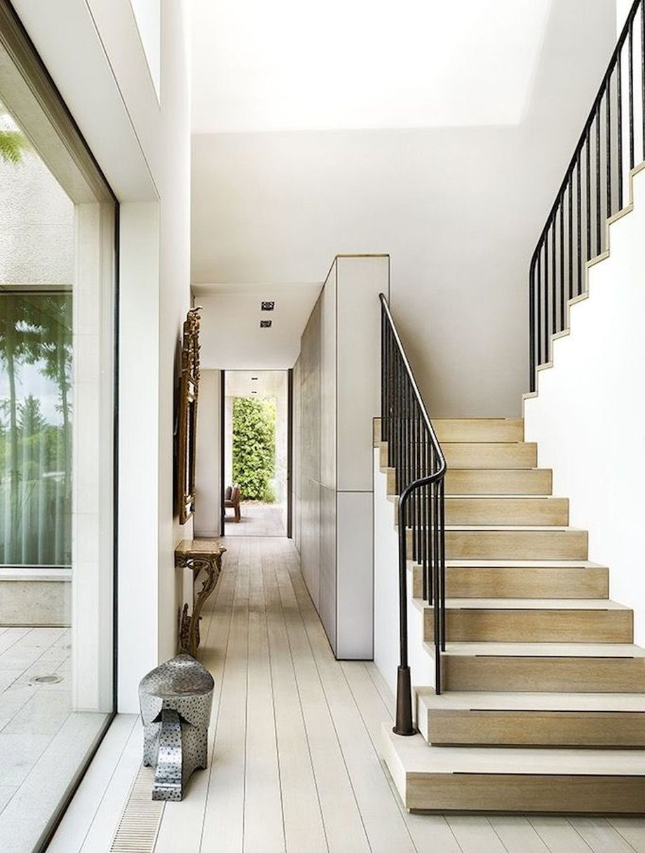 40 Awesome Modern Stairs Railing Design 20 - Rockindeco