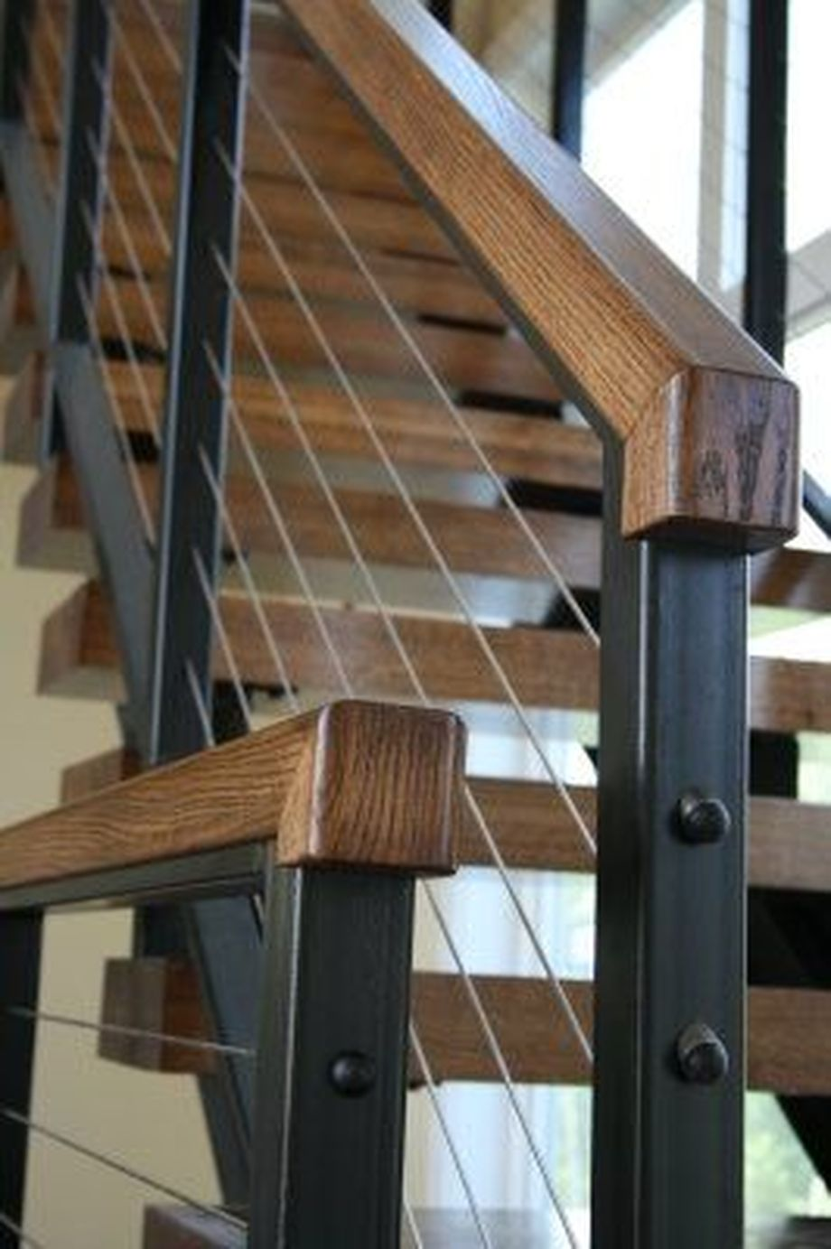 40 Awesome Modern Stairs Railing Design 22 - Rockindeco