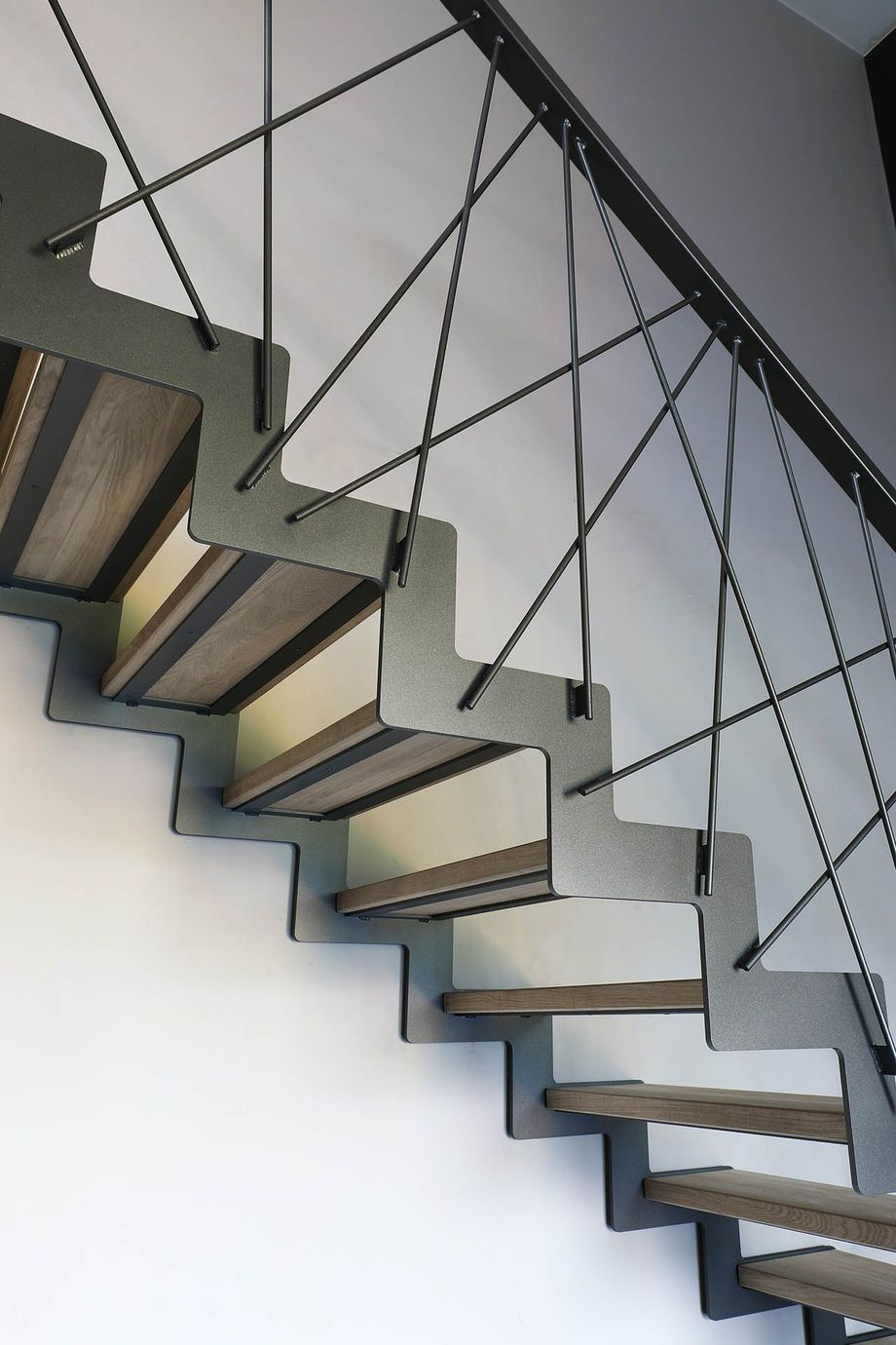 40 Awesome Modern Stairs Railing Design