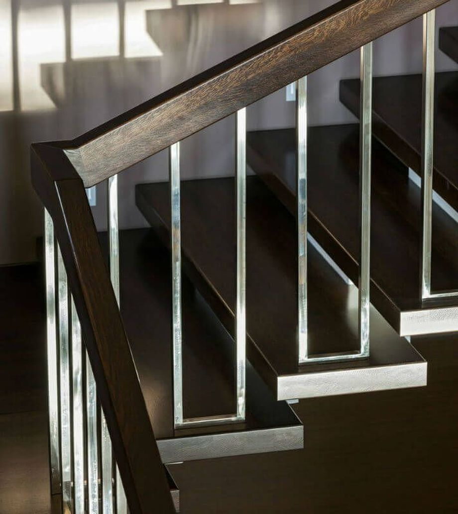 40 Awesome Modern Stairs Railing Design 8 - Rockindeco