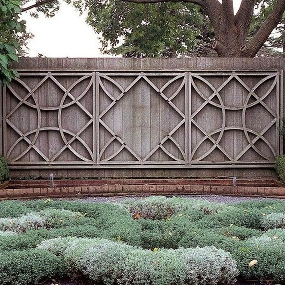 Stunning Creative Fence Ideas For Your Home Yard 20 Rockindeco