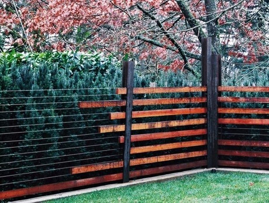 Stunning Creative Fence Ideas for Your Home Yard 48 ...